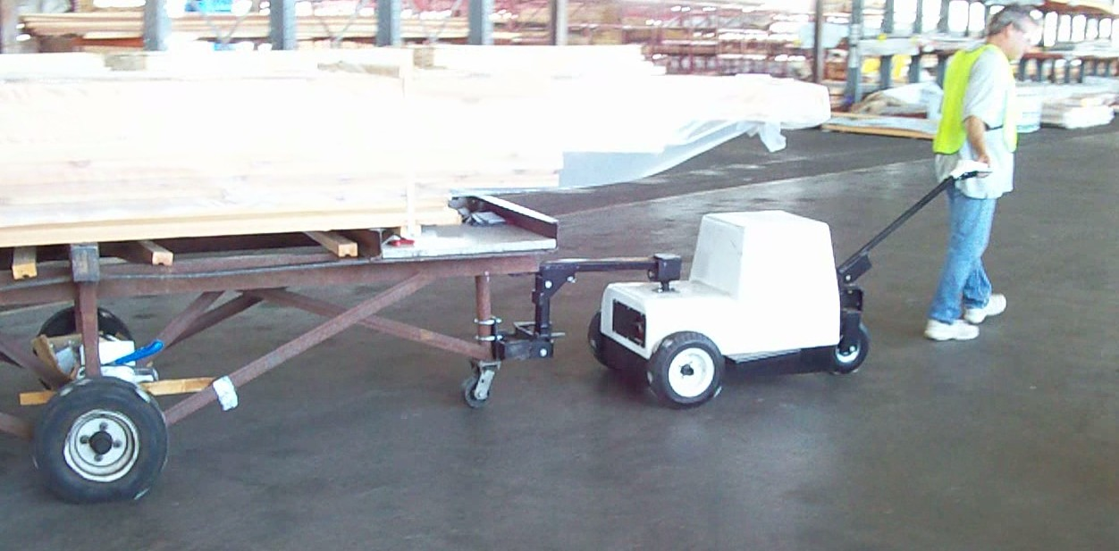Lumber Carts move with ease with the Cart Mule line of products.